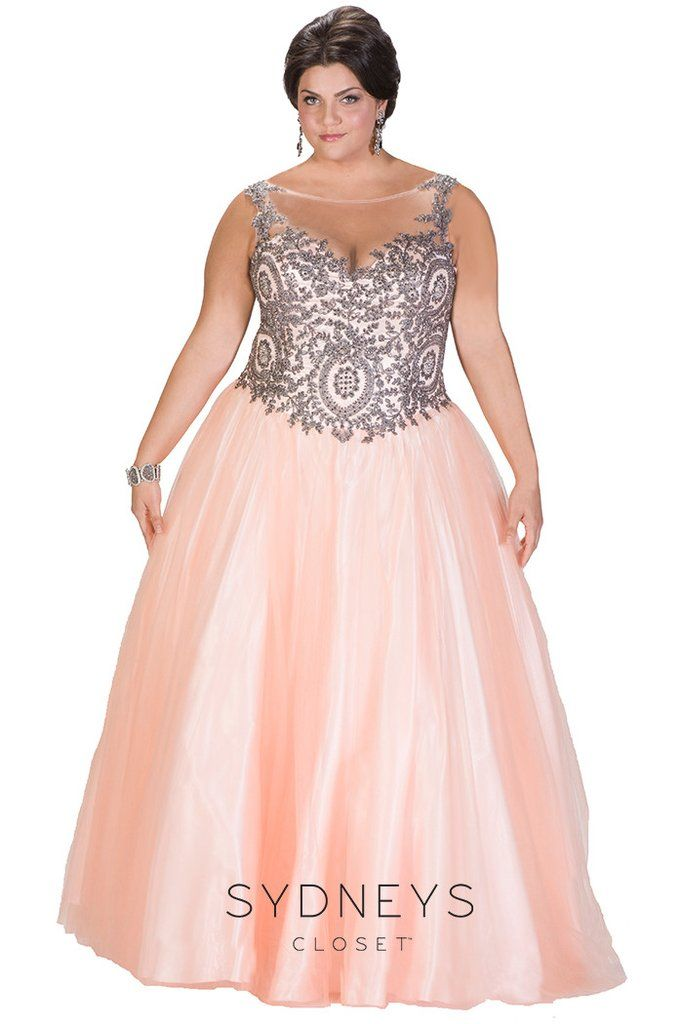 You Will Have A Magical Night When You Wear Our Veronica Ball Gown Exquisite Eye Catching Gunmetal Beadi Ball Gowns Evening Dresses Plus Size Plus Size Gowns