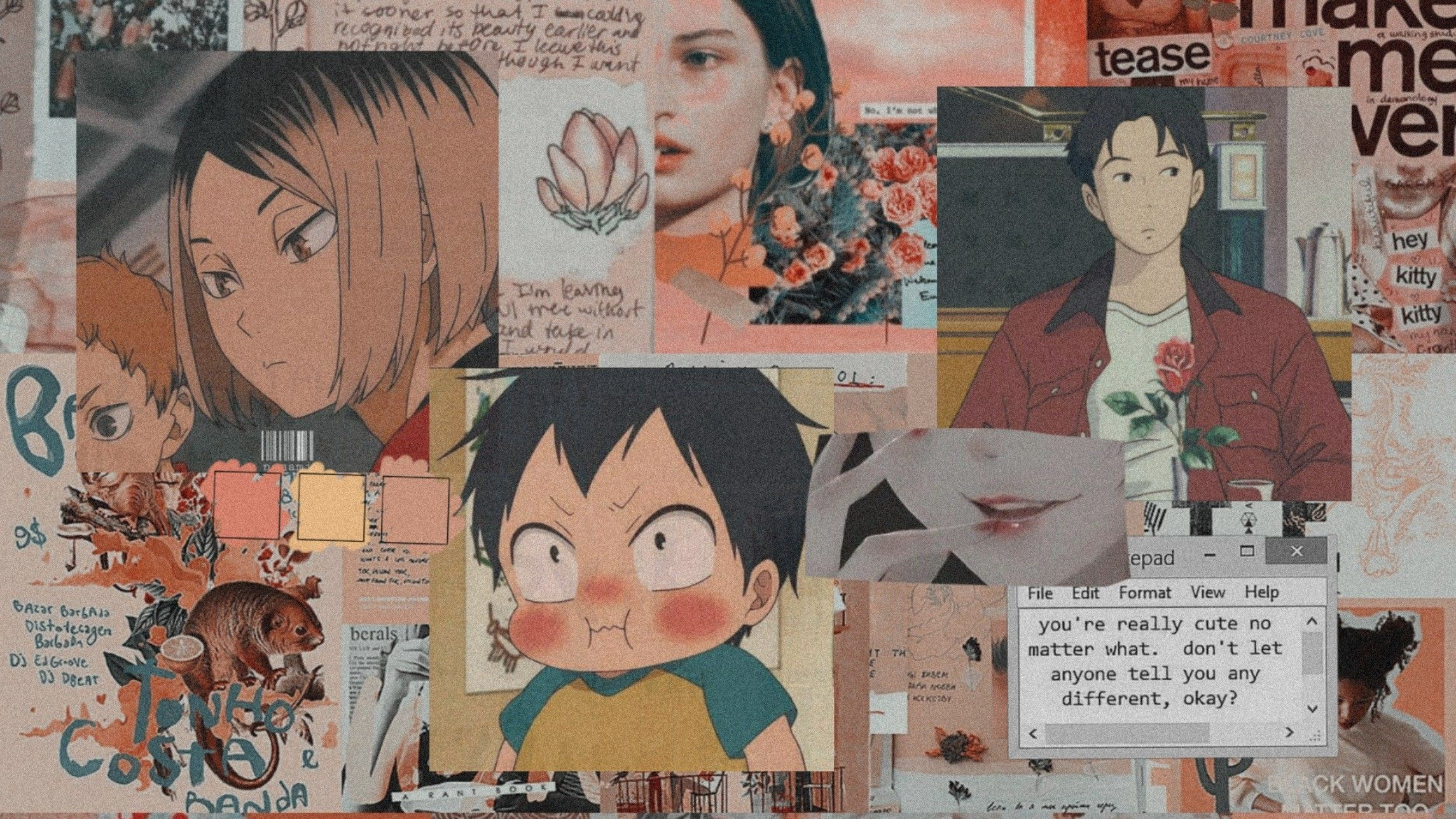 Pin By Belaaang Hakdogg On Minne Cute Desktop Wallpaper Cute Laptop Wallpaper Anime Computer Wallpaper
