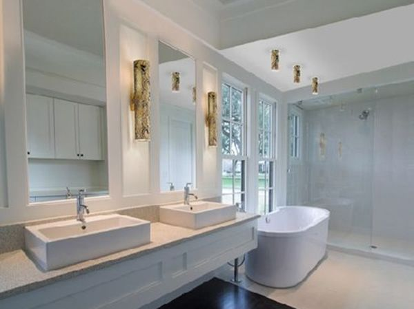 Lincoln Square 1 Light Sconce In Polished Nickel With Clear Crystalline  Glass   Homeclick Community. Contemporary ...