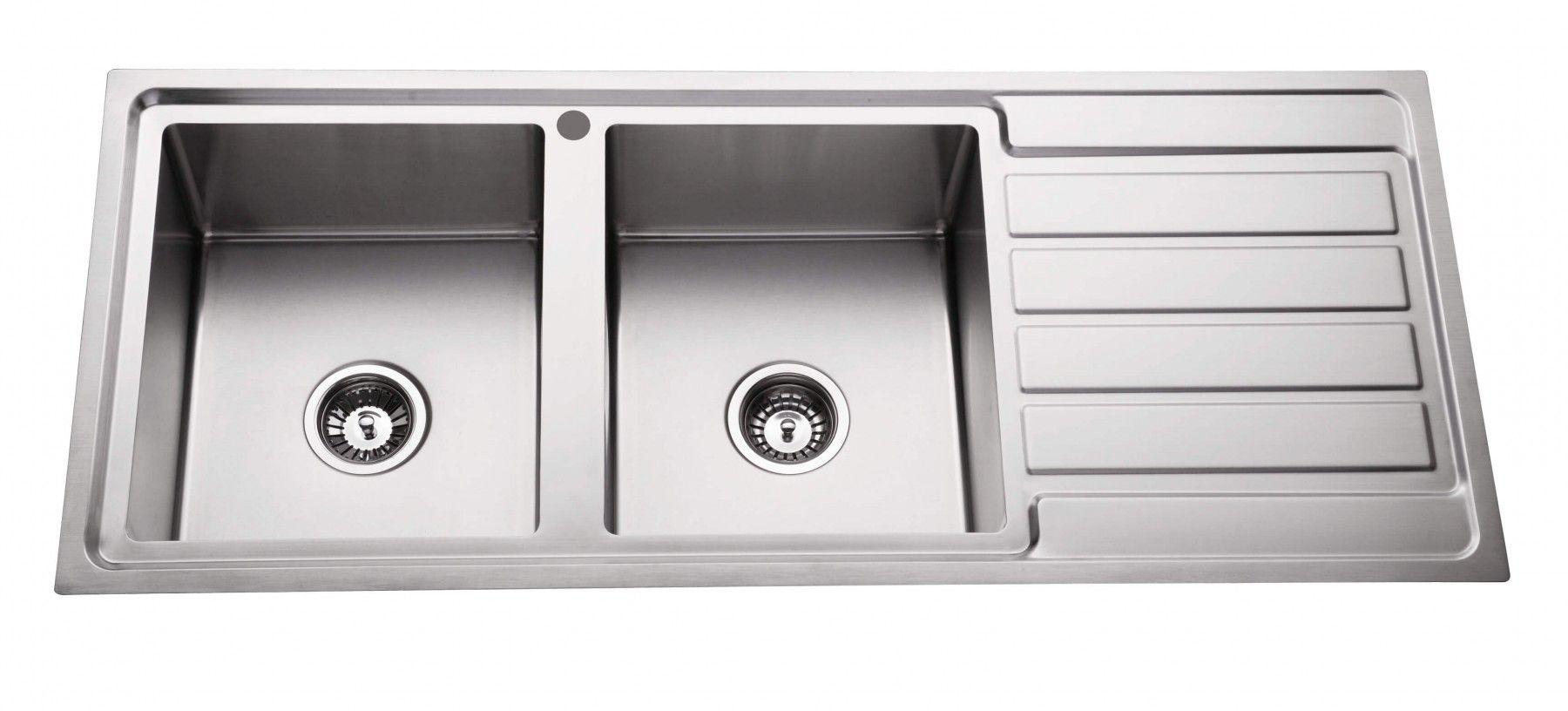 Lineare 1200mm Double Bowl Sink Drop In Sinks Kitchen Sinks Kitchen Laundry Bathware Direct Double Bowl Sink Bowl Sink Kitchen Fittings