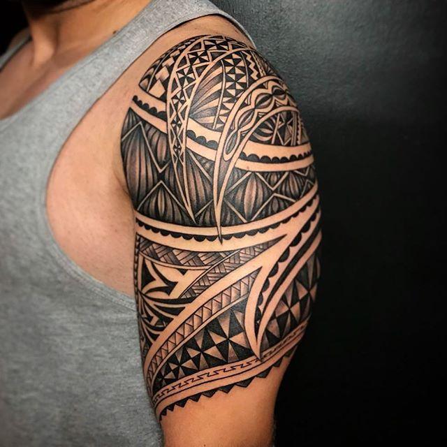 Henna Tattoo In Bangkok: Custom Freehand Polynesian Piece By Tum