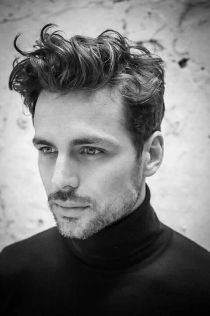 Short Curly Hair For Men - 50 Dapper Hairstyles