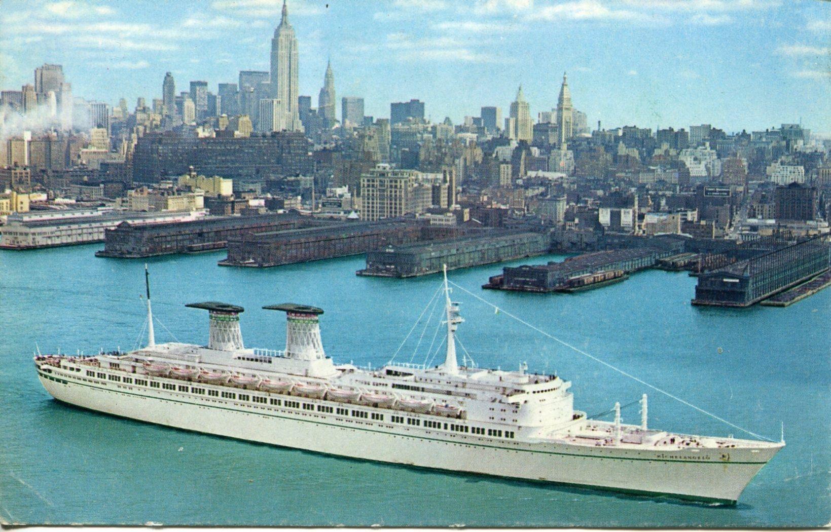 Raffaello A New York Cruise Ships Pinterest Michelangelo
