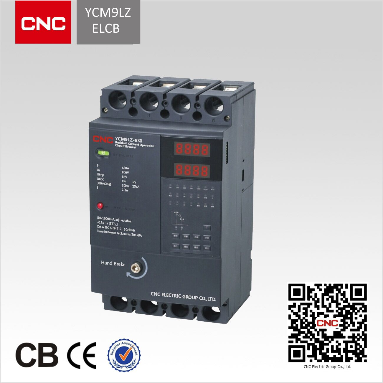YCM9LZ ELCB Earth Leakage Circuit Breaker
