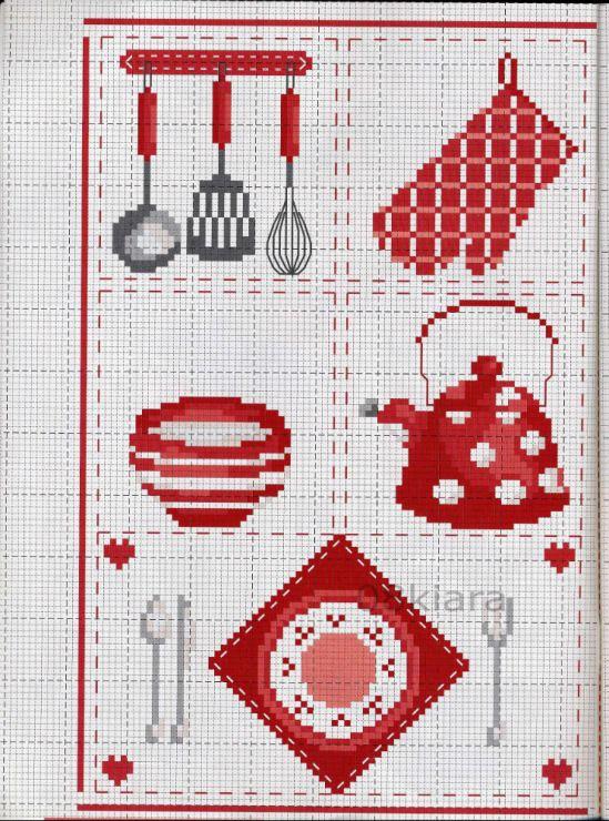 Gallery.ru / Фото #3 - Красная посуда - mila010154 | COCINA ...