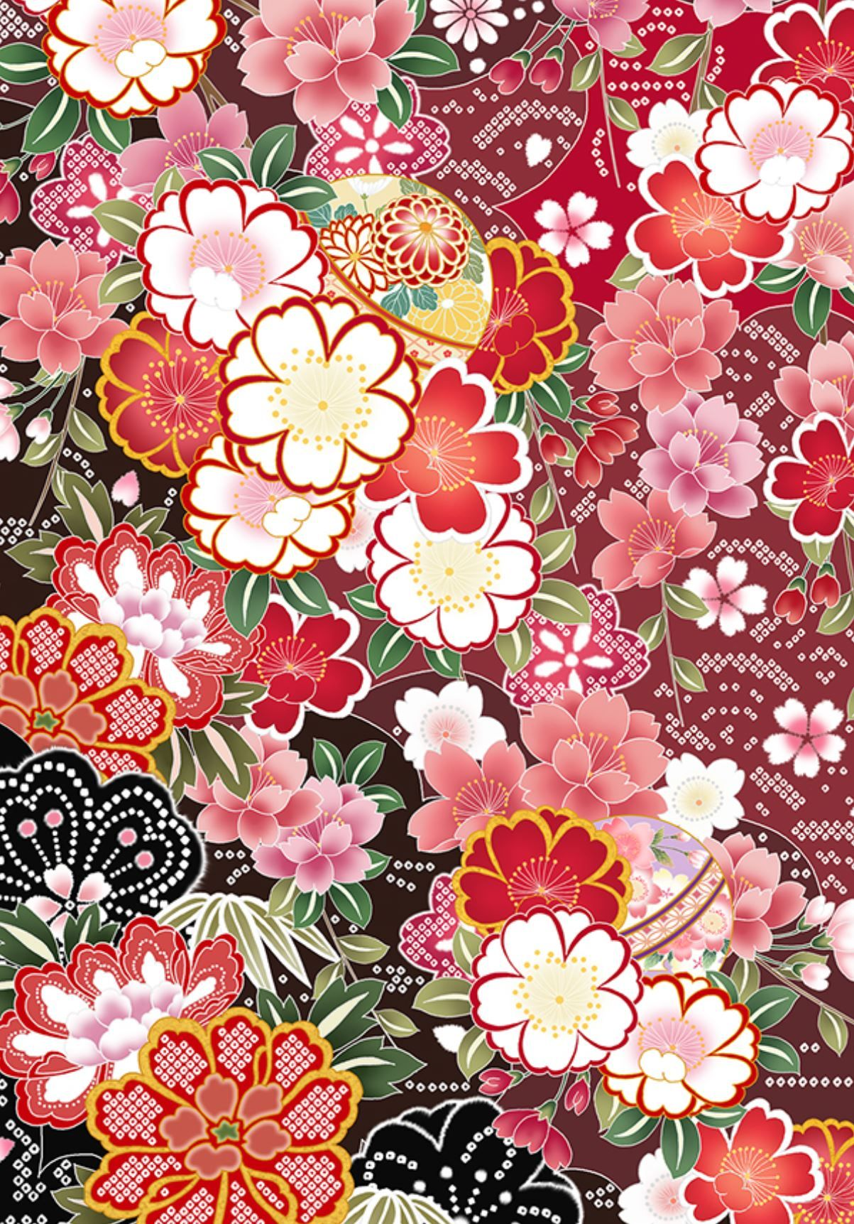 Cherry Blossoms Patterns Origami Paper: Perfect for Small Projects ...   1723x1203