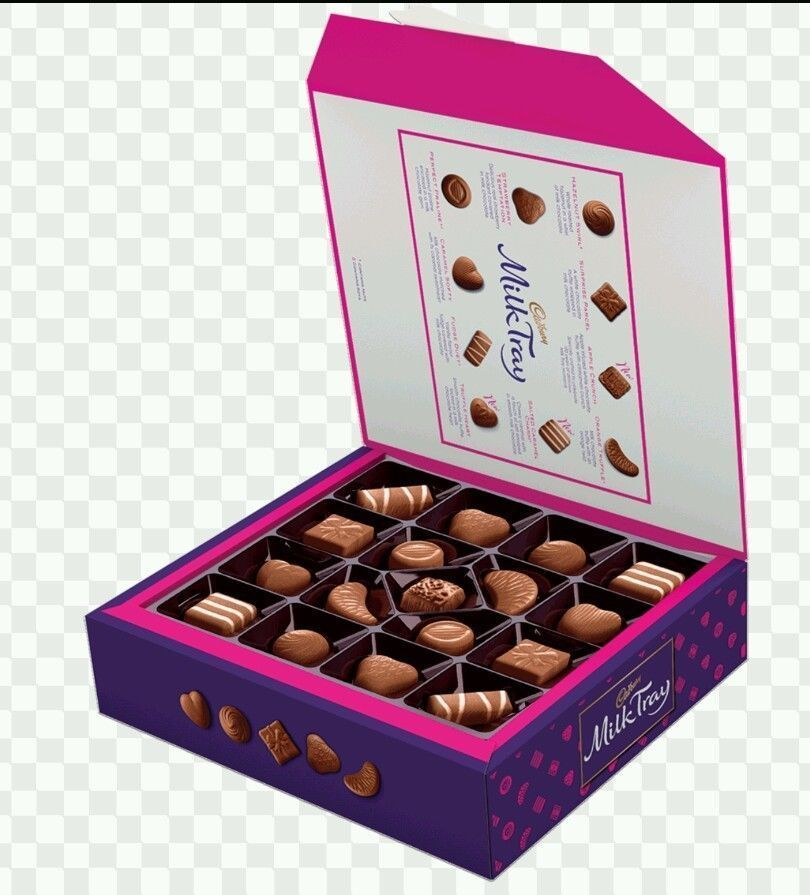 Details about 1 box of cadbury milk tray chocolate luxury