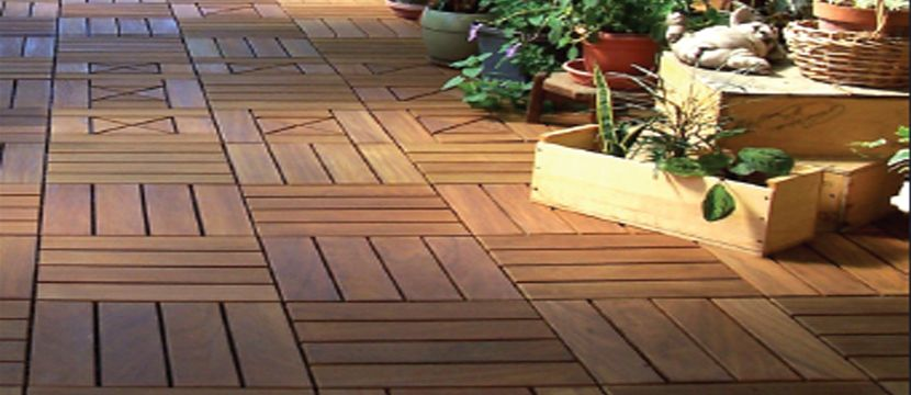 #DIY wood plastic floor in south africa
