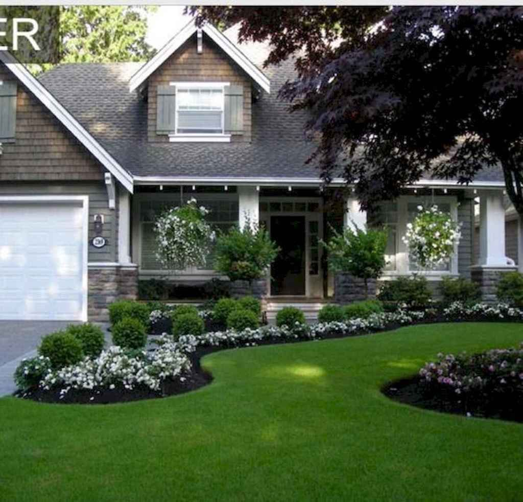 90 Simple And Beautiful Front Yard Landscaping Ideas On A Budget 3 Front Yard Garden Design Front Yard Landscaping Design House Landscape