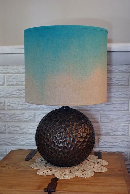 Ombre Lamp Shade Lamp Shade Living Room Lamp Shades Painting Lamp Shades