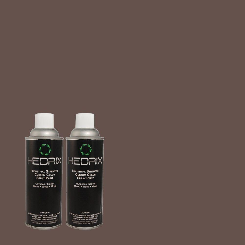Hedrix 11 oz. Match of MQ5-1 Extravagance Flat Custom Spray Paint (8-Pack), Color Match Of Mq5-1 Extravagance. Available In Multiple Sheens.