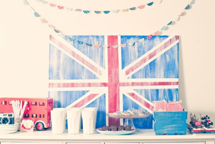 British Boy Birthday Party! - Budget Friendly Party #partybudgeting