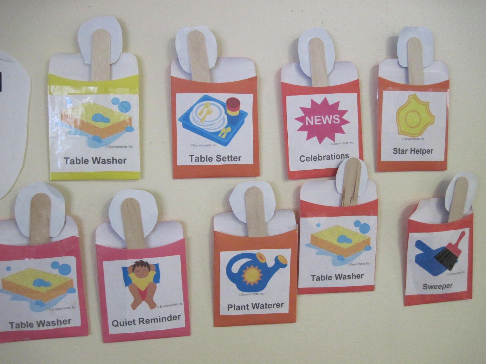 Mrs. Darcey's School Family Jobs Reusable tote, Tote bag