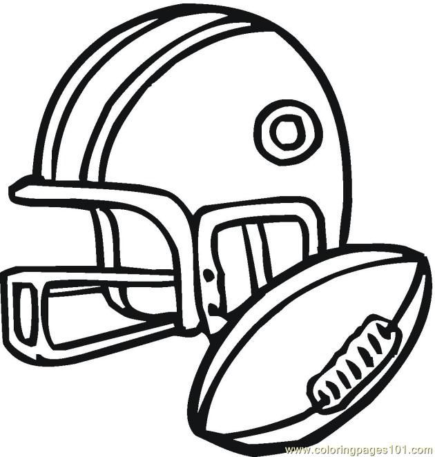 printable football free printable coloring page American