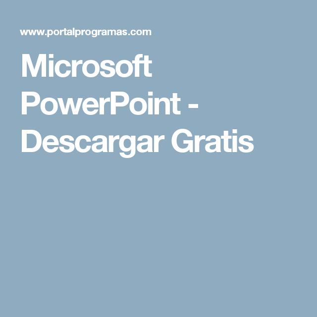 microsoft powerpoint descargar gratis anna pinterest