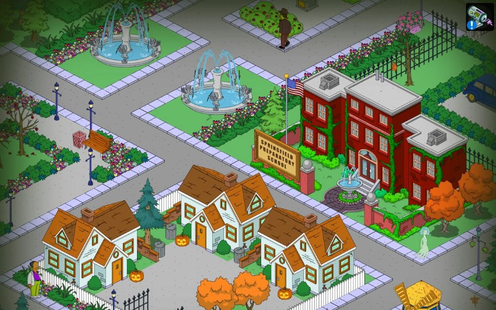 EA Forums The simpsons game, Electronic art, Springfield