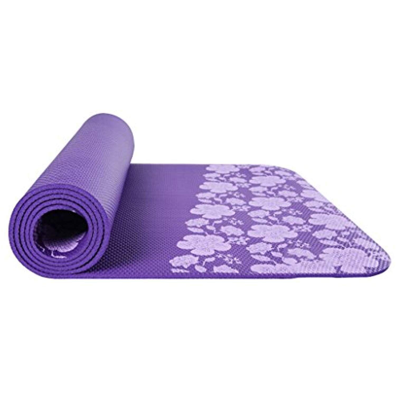 Zww Electronic Tasteless Nbr Material Yoga Mat Printed Non Slip Fitness Yoga Mats High Elastic Pilates Yoga Yoga For Beginners Pilates Yoga Mat Yoga Fitness