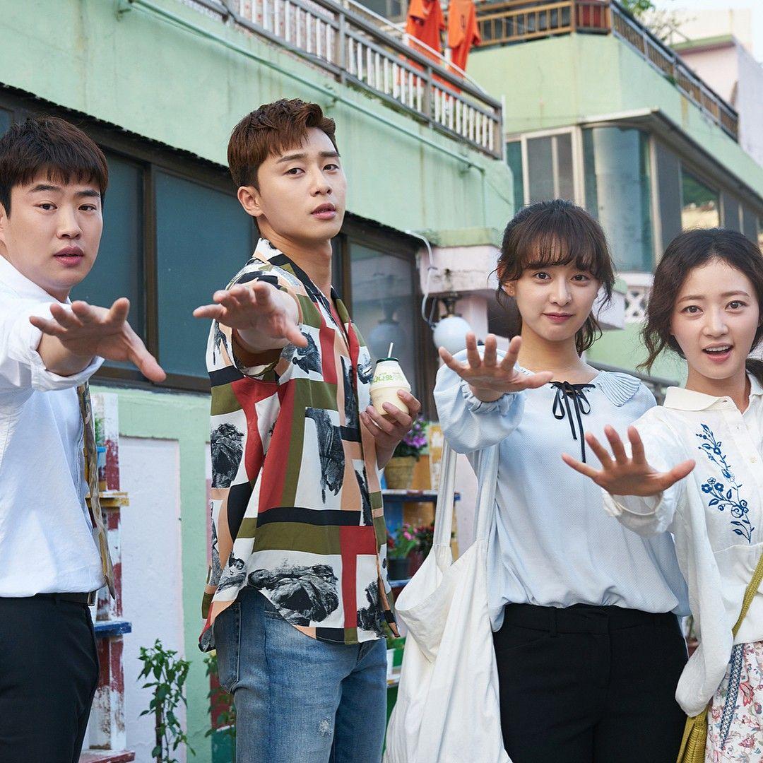Korean Drama Fight For My Way Starring Park Seo Joon Kim Ji Won Sung Ha Yoon Ahn Jae Hong Korean Drama Drama Kim