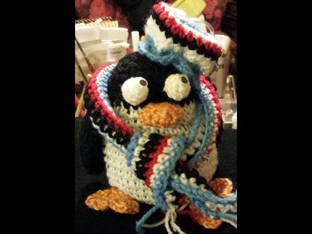 Tutorial Amigurumi Pinguino : Pinguino amigurumi sampdoria tutorial uncinetto crochet amigurumi