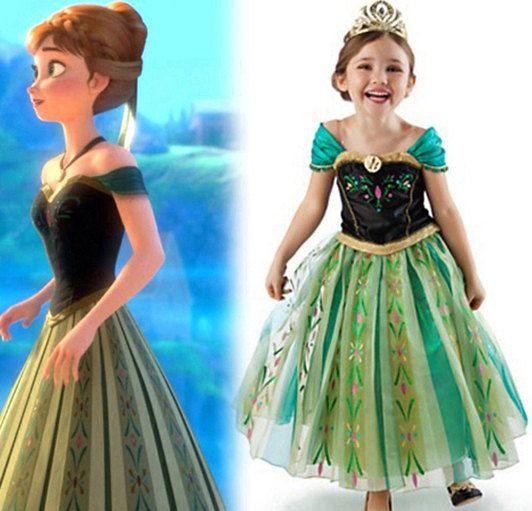 Inspired Frozen Dress Frozen Costumes Queen Elsa Princess Anna Girls Costume Frozen Birthday Snowflake Cosplay Girl  sc 1 st  Pinterest & Inspired Frozen Dress Frozen Costumes Queen Elsa Princess Anna Girls ...