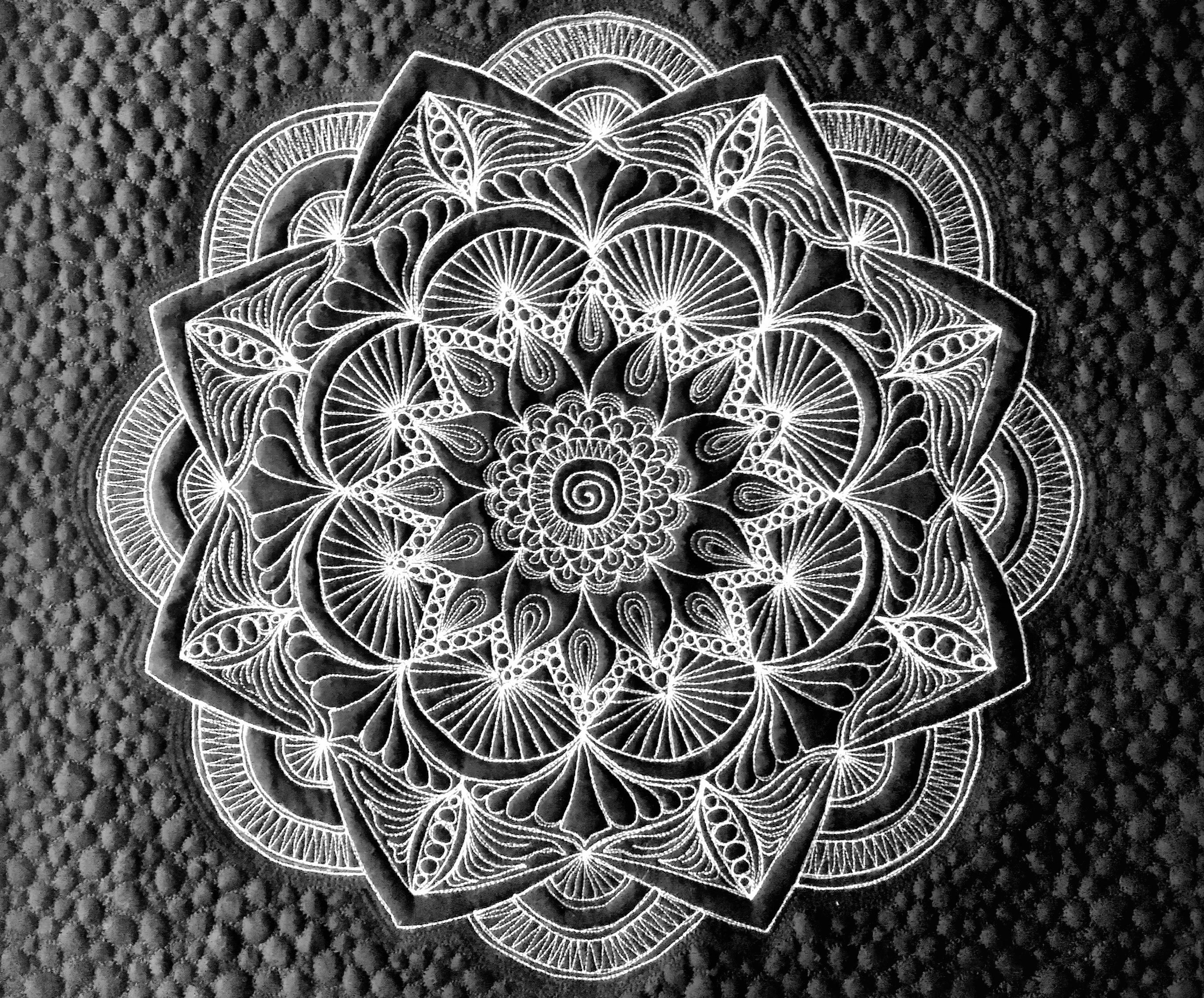 Fabulous Medallion Created By Amy Kraan Using The Circle