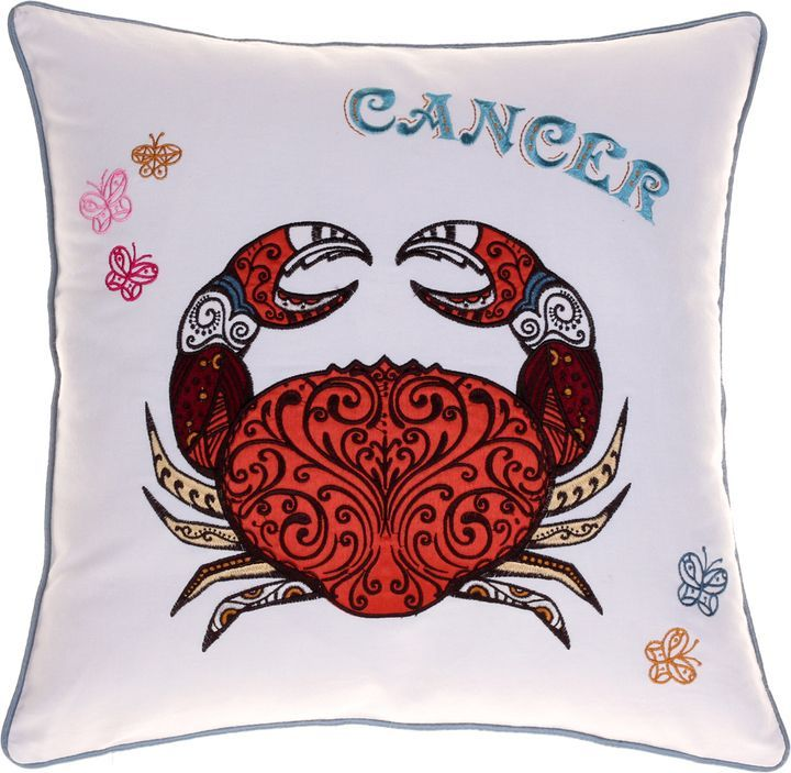 14 Karat Home Cancer Cotton Pillow