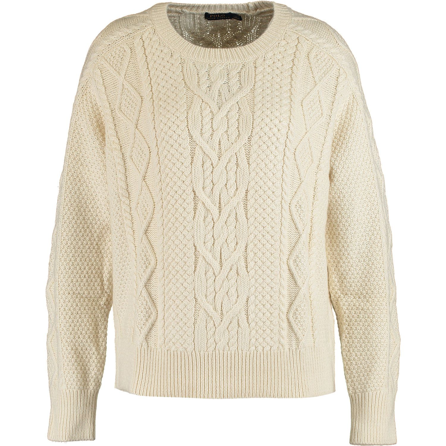 shop for best uk store clear and distinctive Cream Knitted Jumper - Knitwear - Clothing - Women - TK Maxx ...