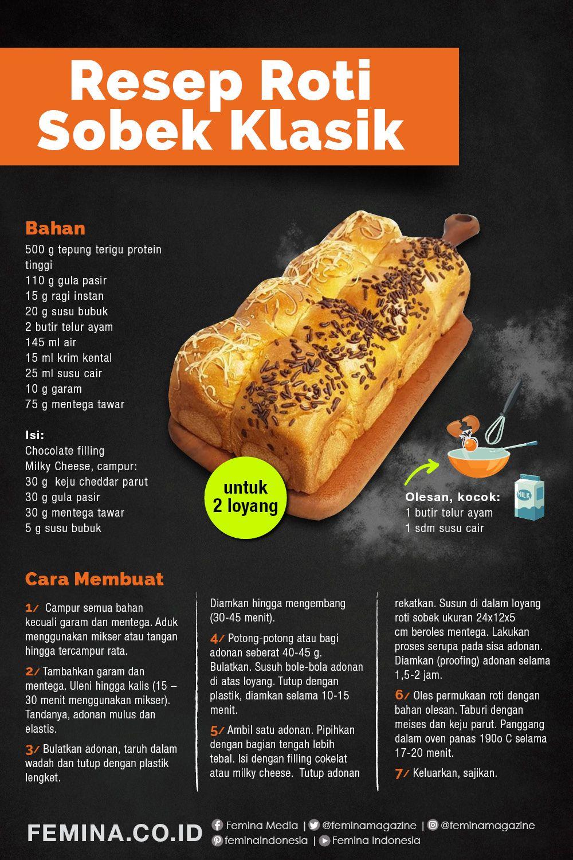 Resep Roti Sobek Klasik di 2020 Resep, Ide makanan