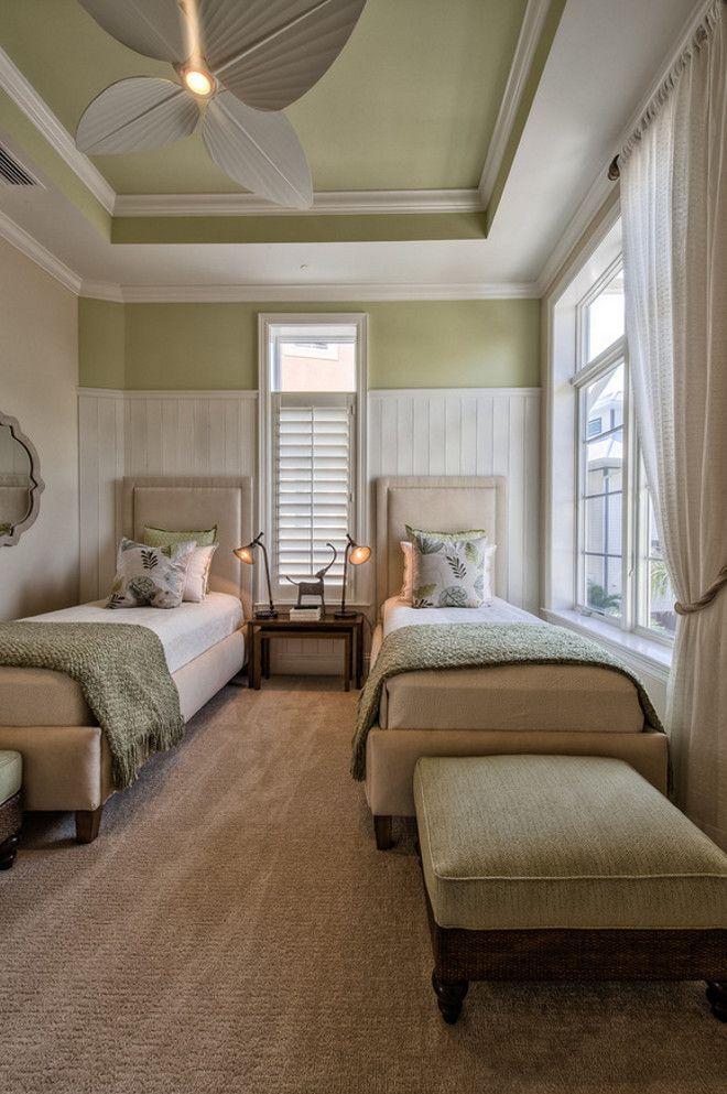 "Flexi 2 Room Interior Design: Guest ""twin"" Bedroom"