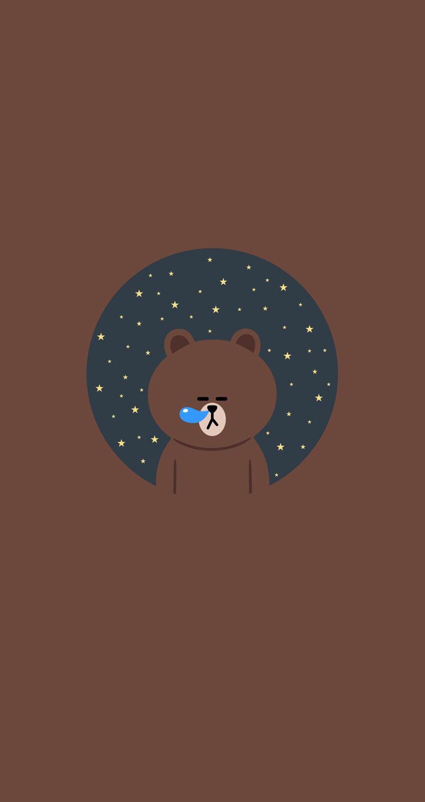Cute Rilakkuma Bear Wallpaper Wallpaper Line Friends(≧ ≦) Wallpaper Doodle Cute