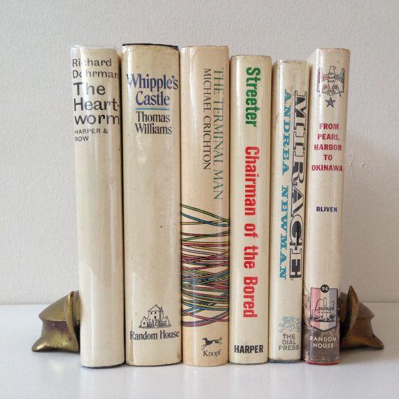 White Decorative Book Bundle