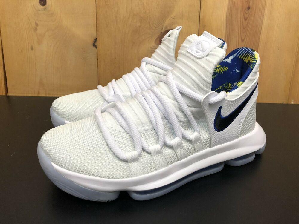new styles 97bc7 26c8b eBay #Sponsored Nike Zoom KD 10 X LMTD(GS) White Game Royal ...