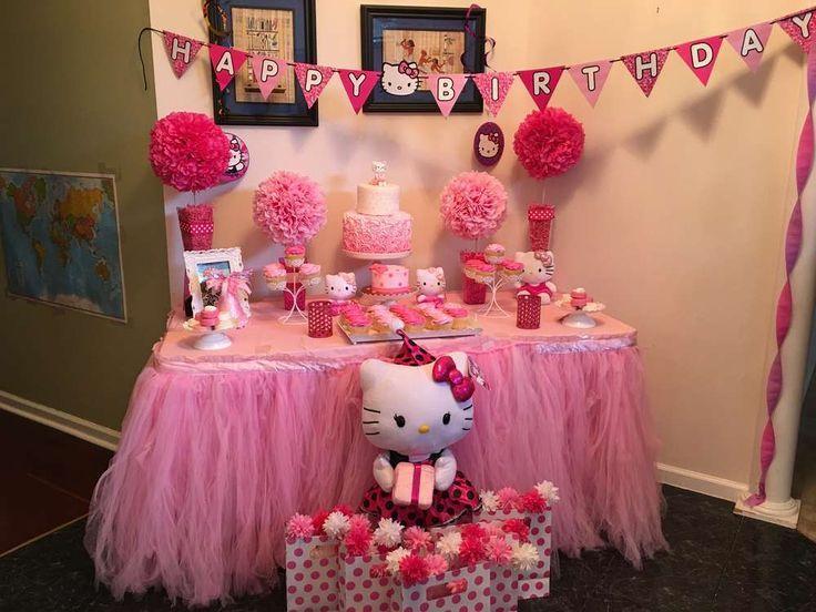 Hello Kitty Birthday Party Ideas Hello Kitty Theme Party Hello
