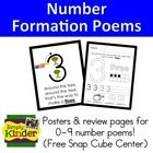 $ Learn how to write numbers with these fun poems!  Most primary teachers know them, but there is not many options out there for teaching them.