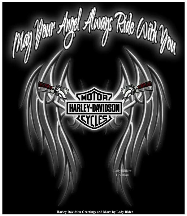 May Your Angel Always Ride With You | Harley Davidson ...