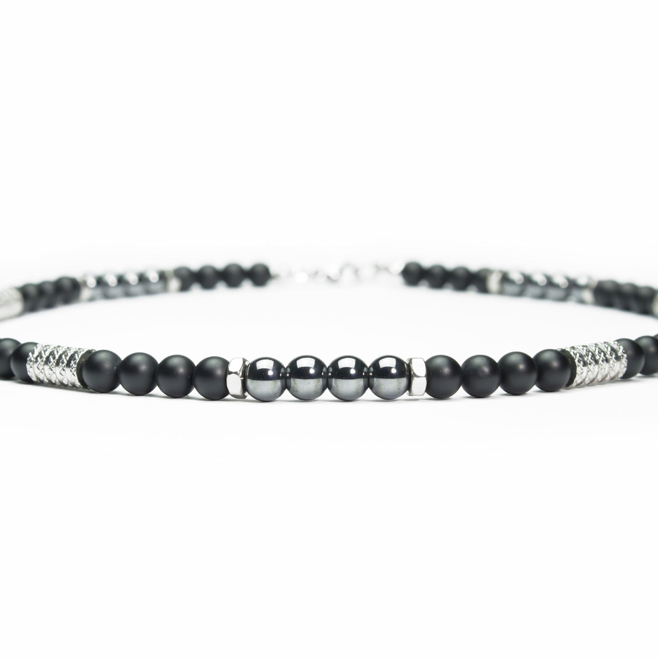 collier homme chic