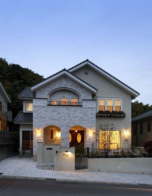 家の外観 押さえるべき種類や外壁材 特徴ある外観はこのように
