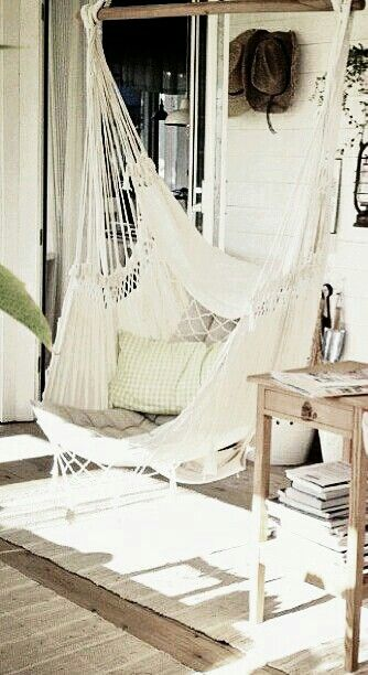 hammock chair cream balkon h ngematte und lesesessel. Black Bedroom Furniture Sets. Home Design Ideas