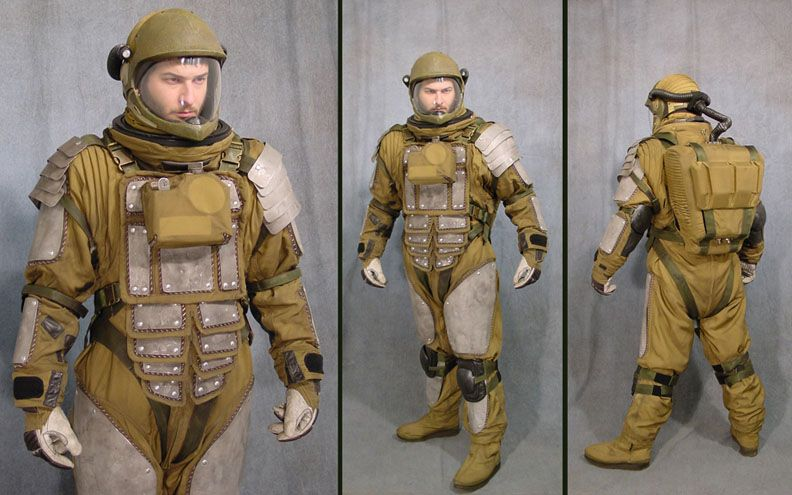"""Global Effects Inc. - Armored Space Suit (""""Firefly ..."""