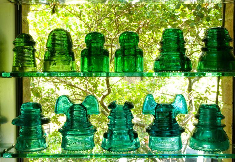 Peachridge Peachridge Glass Glass insulators, Glass