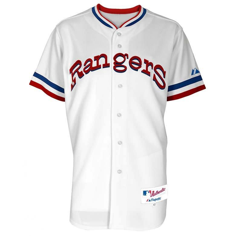 texas rangers throwback jersey