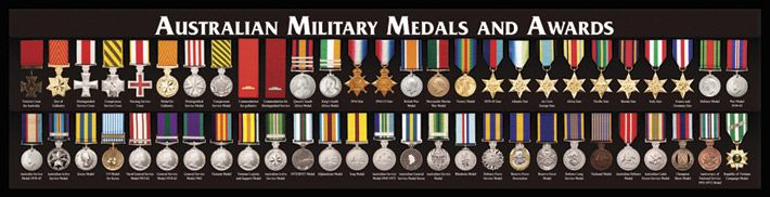 Australian Military Medals And Awards