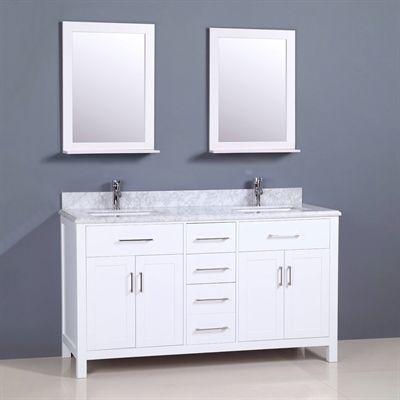 Golden Elite Bathroom Vanity CT60 Capetown 61-in in 2018 Products