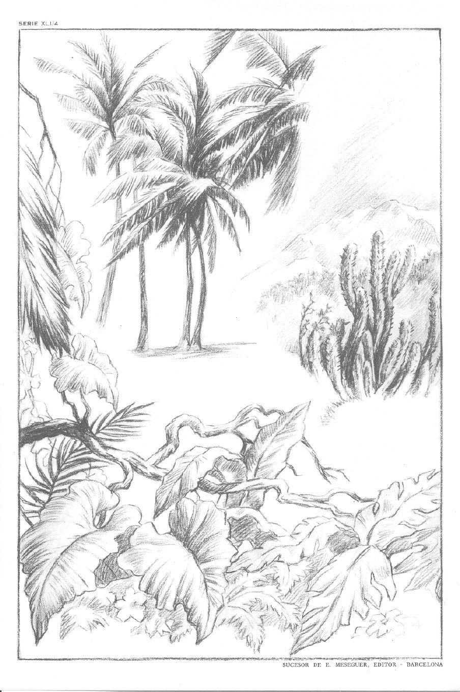 Dibujo emilio freixas l minas serie 41 paisajes iii - Laminas de pared ...