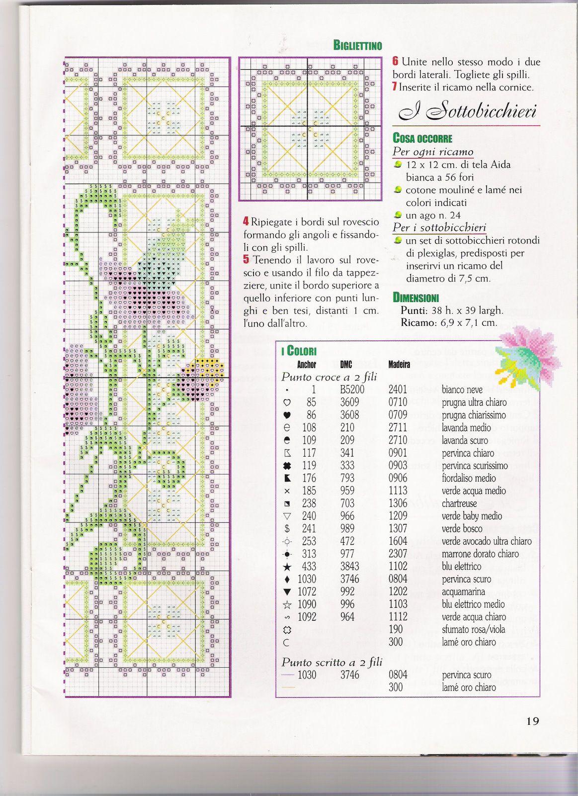 farfalla grande per quadretto (3) magiedifilo.it punto