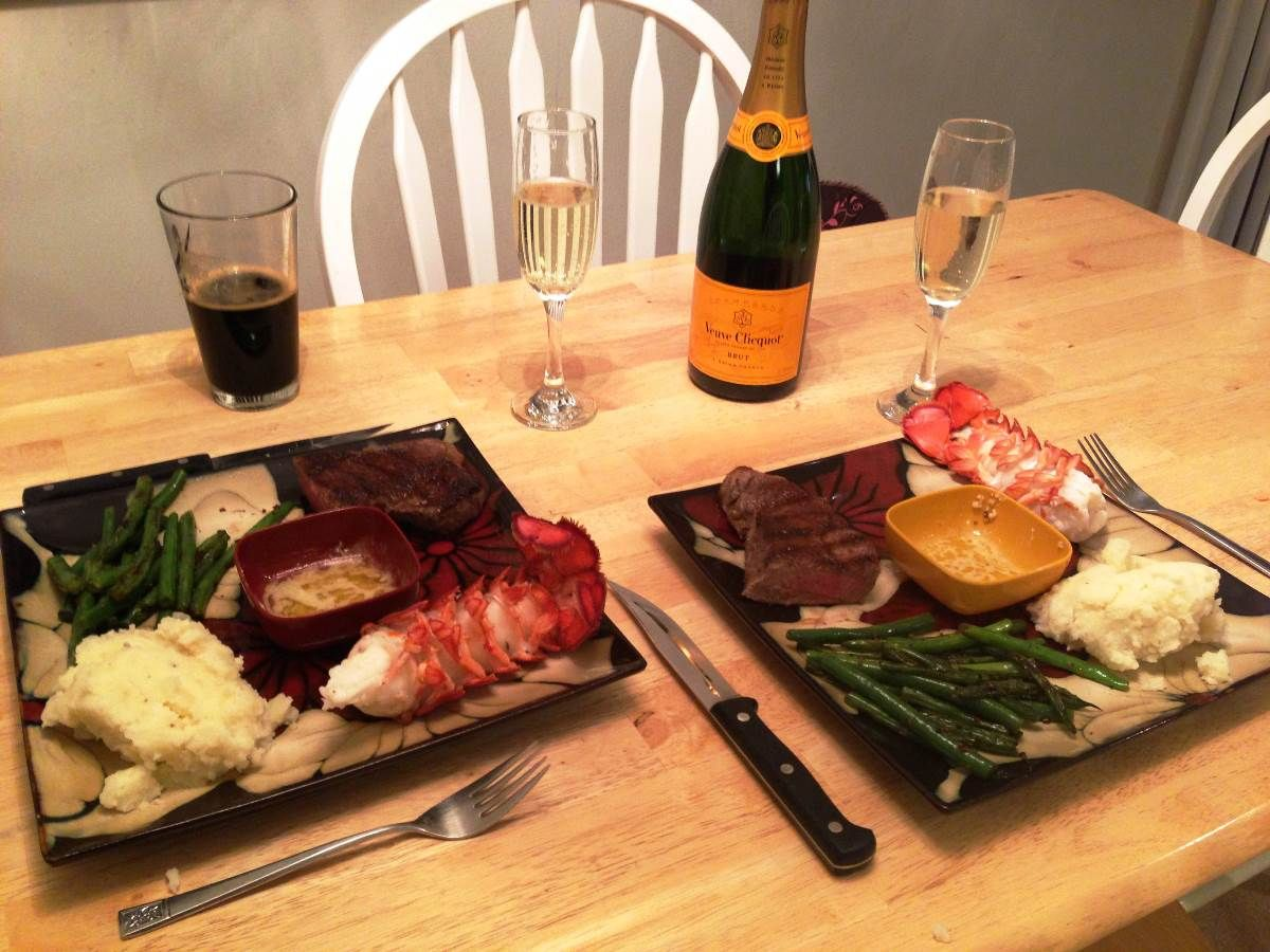 romantic valentines day dinner at home - real house design