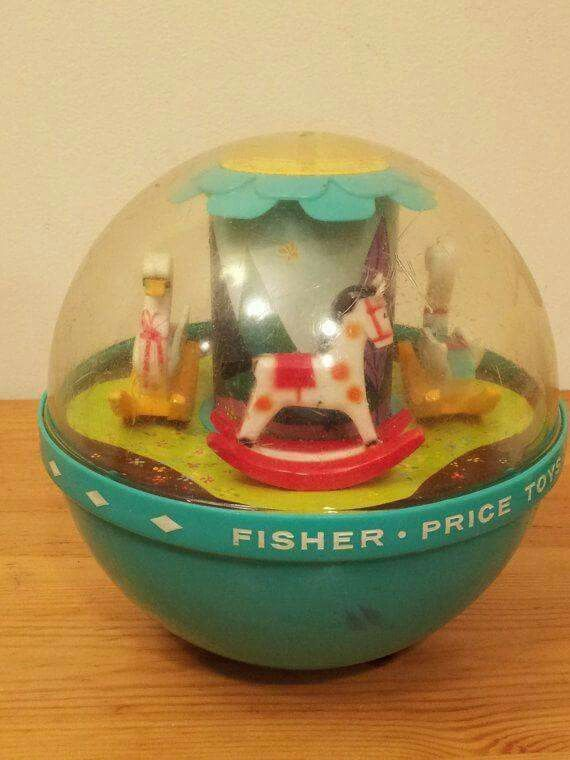 Fisher Price Toy For Kids Oldies 1960s Toys Childhood
