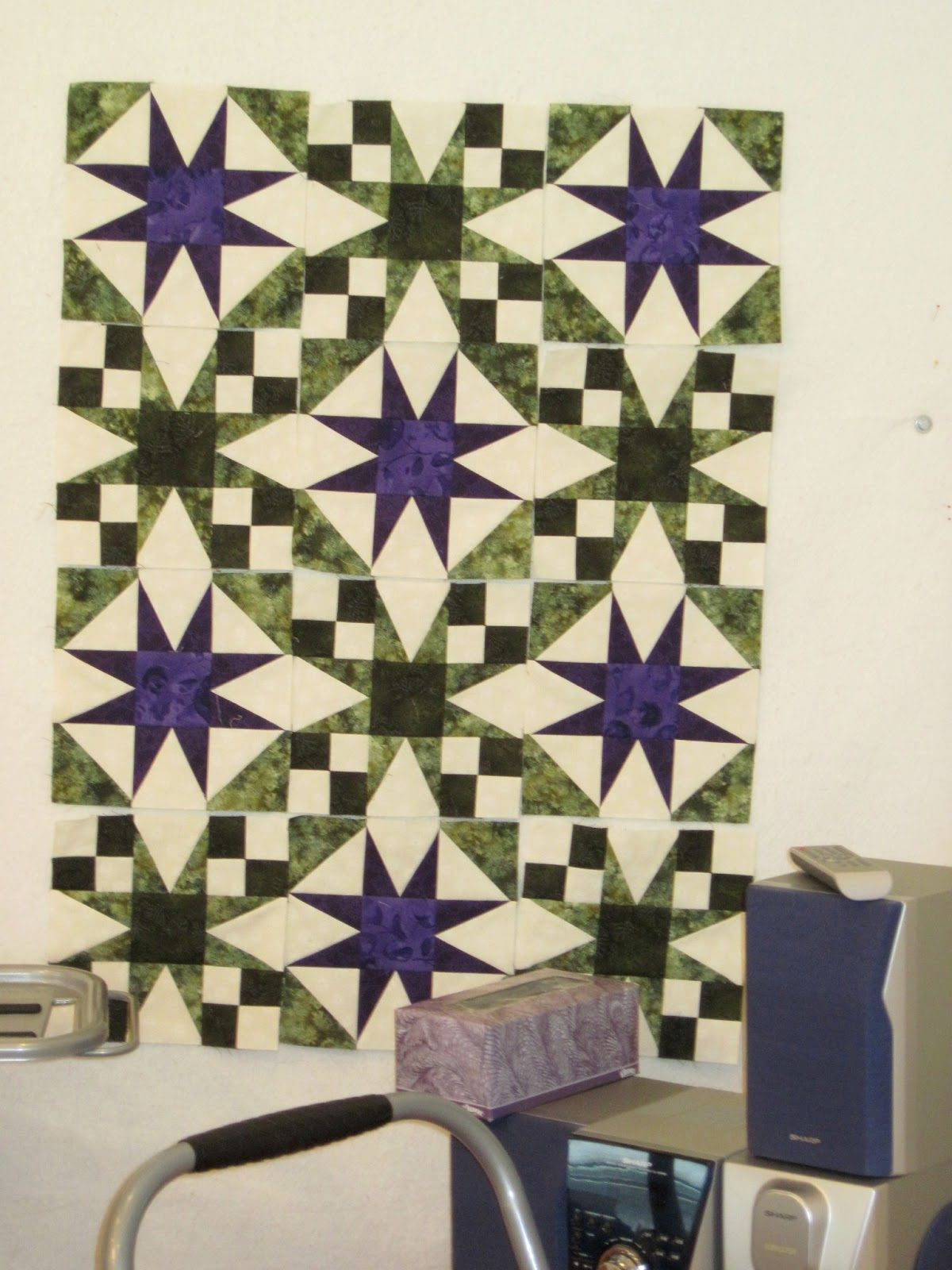 galaxy quilt pattern deb tucker - shown in several color ideas