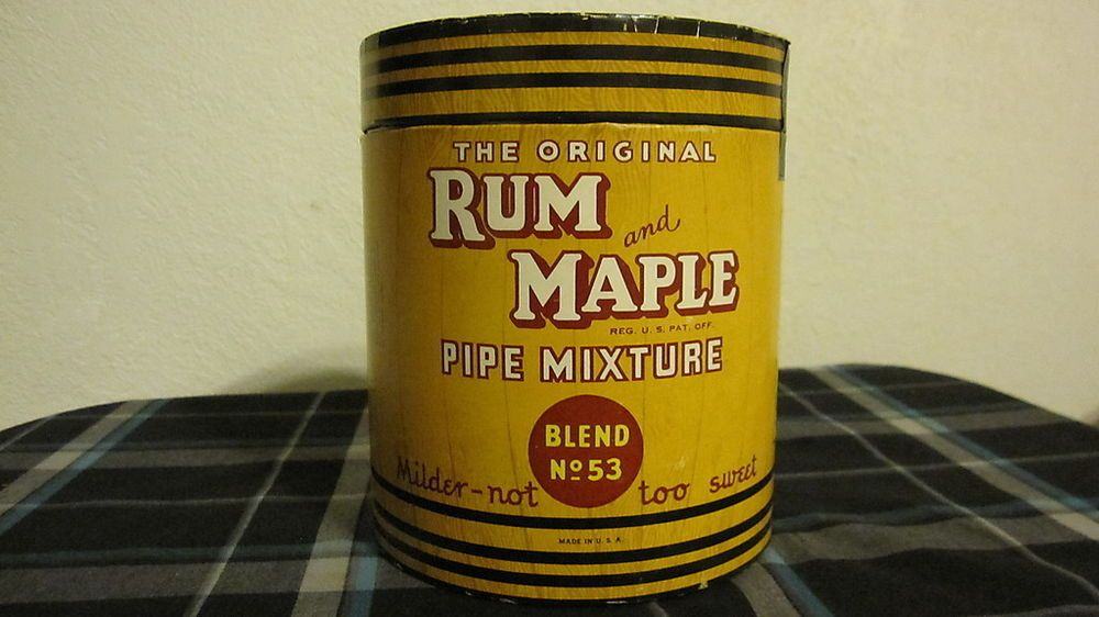 Vintage Rum and Maple Pipe Tobacco Tin Blend 53