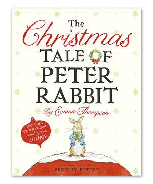 Loving this The Christmas Tale of Peter Rabbit Hardcover on #zulily! #zulilyfinds